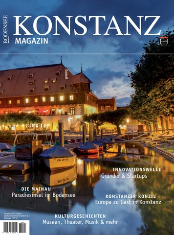 Konstanz Magazin 2017 By Marketing Und Tourismus Konstanz Gmbh Issuu