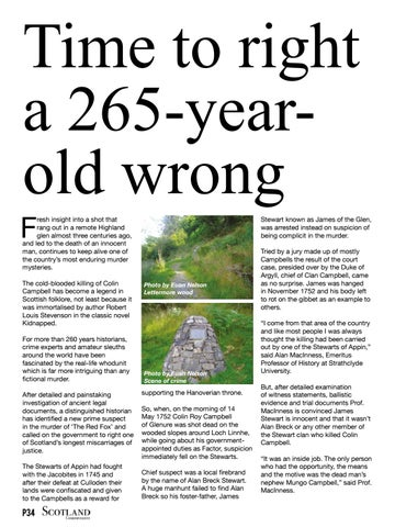 Page 34 of Time to right a 265 year-old wrong