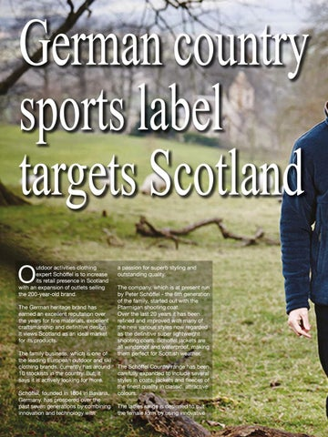 Page 84 of German country sports label targets Scotland