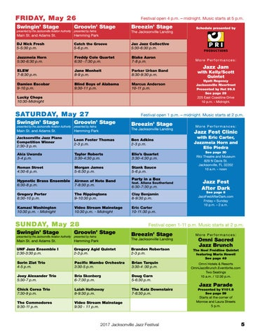 Page 5 of Festival Schedule