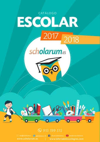 Catalogoescolar 2017 scholarum by Grupo Siena - issuu dfe3a314d480