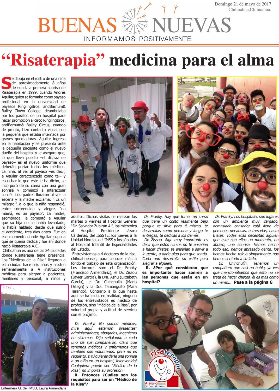 Quinta edición del periódico Buenas Nuevas by Buenas Nuevas Palabra ...