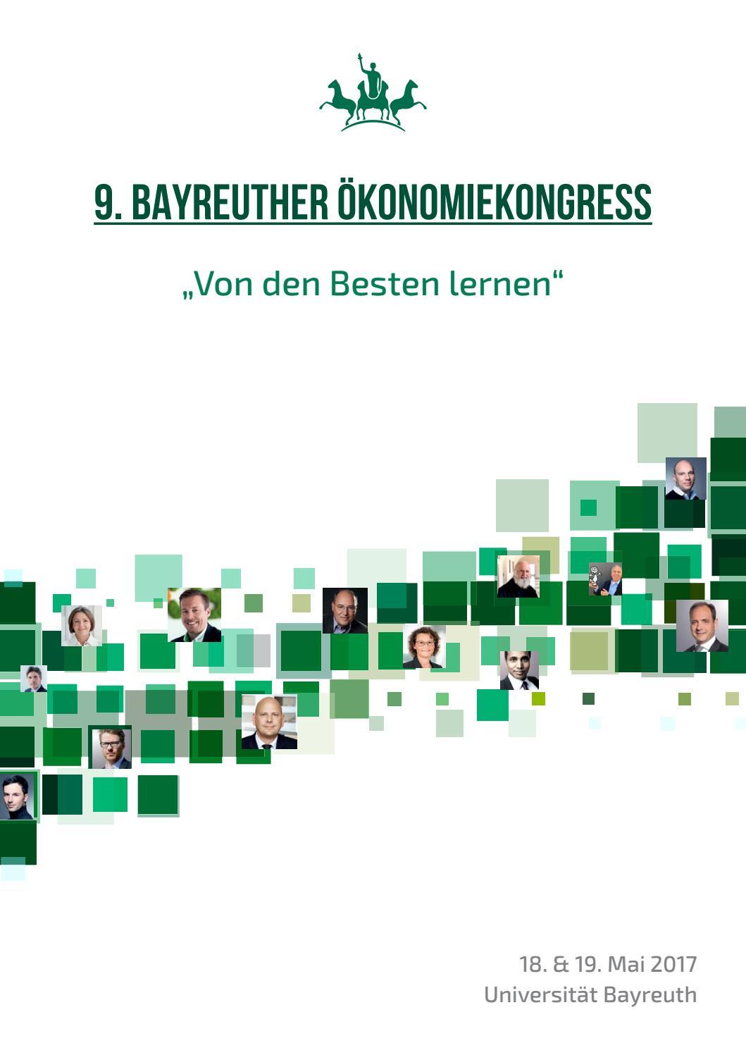 9. Bayreuther Ökonomiekongress by entidia - issuu