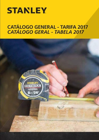 7468c9bbb STANLEY - Catalogo 2017 by My Tools - issuu