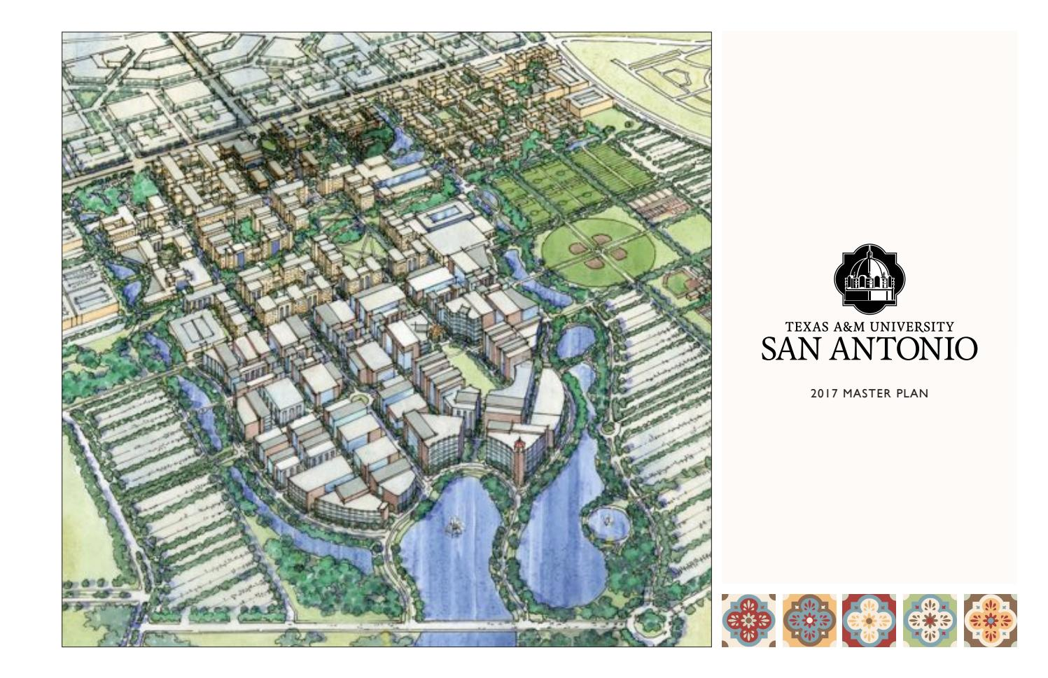 texas a&m university-san antonio master plan 2017 by texas a&m