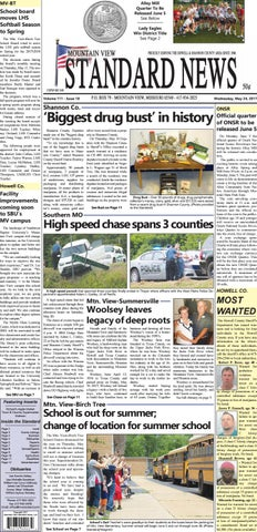 Mv standard issue 5 24 2017 by Mountain View Standard News - issuu
