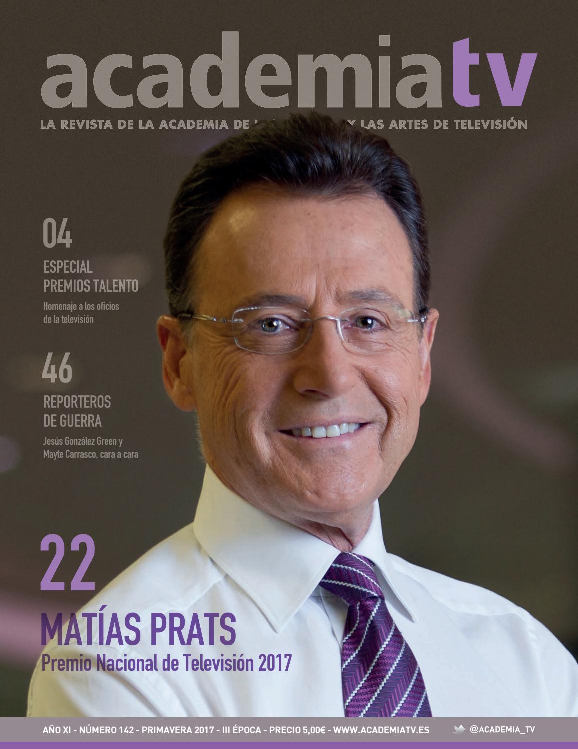 AcademiaTV 142 by Academia de las Ciencias y las Artes de la