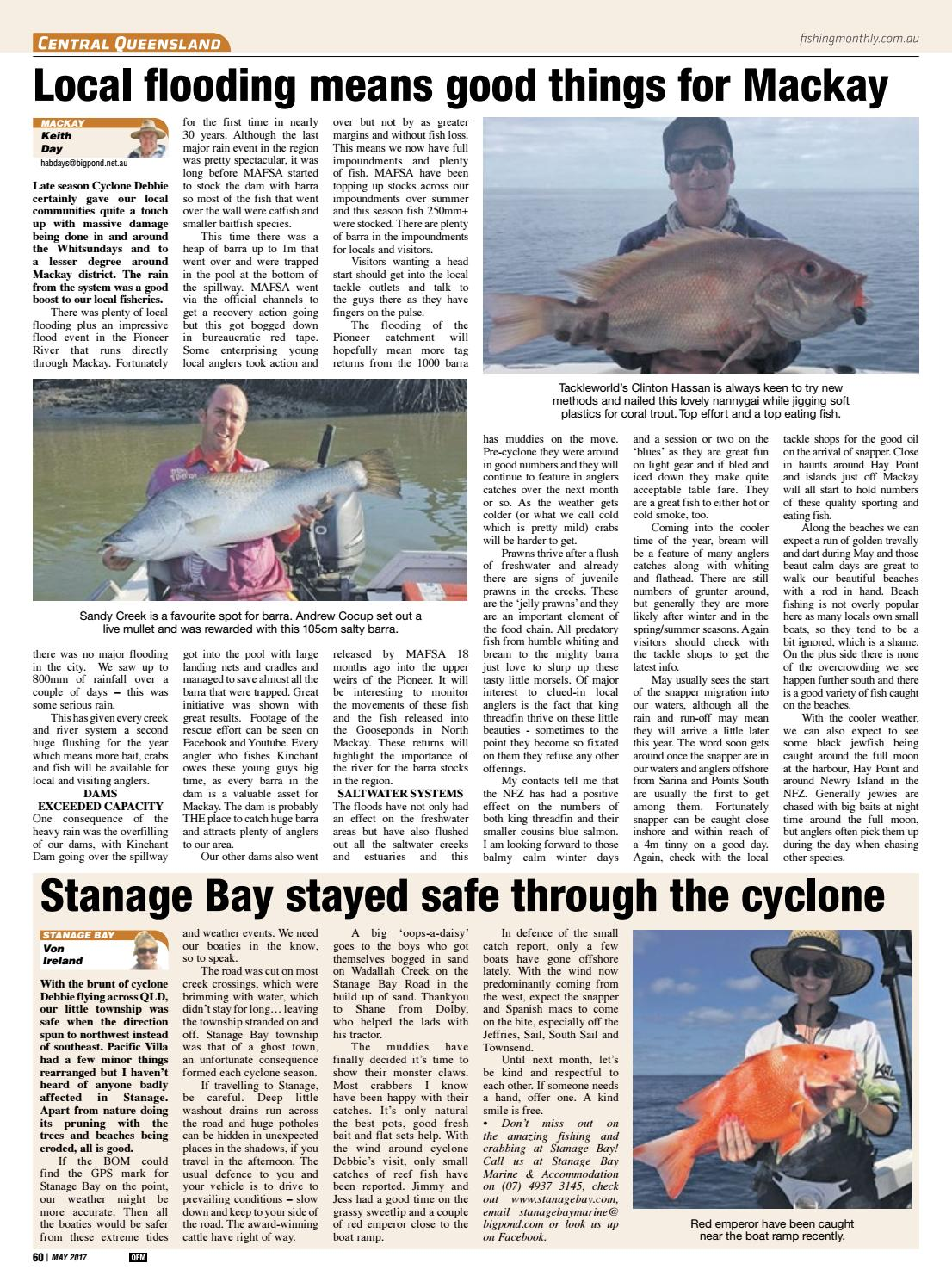 Queensland Fishing Monthly May 2017 by Fishing Monthly - issuu