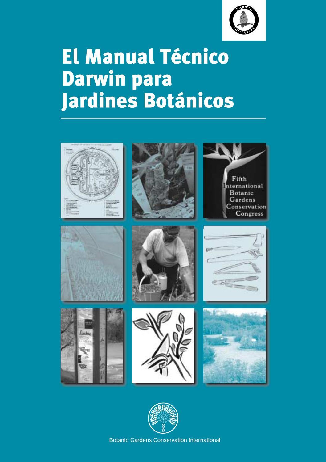 Manual Técnico Darwin Para Jardines Botánicos By Henry Garzon Chimbi Issuu