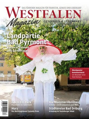 Ausgabe Westfalen Magazin Sommer 2017