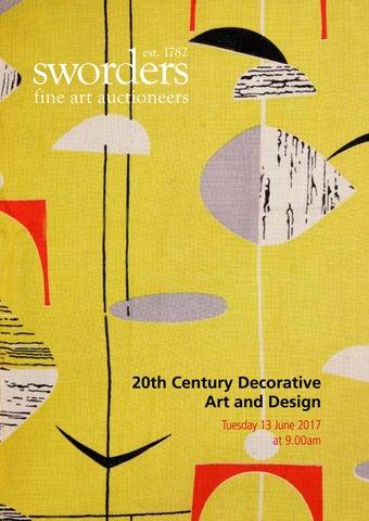 Sworders 20th Century Decorative Arts Design By Auction Technology