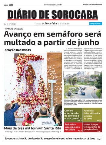 Edição 23 de maio de 2017 by DIÁRIO DE SOROCABA - issuu cd40489783cff