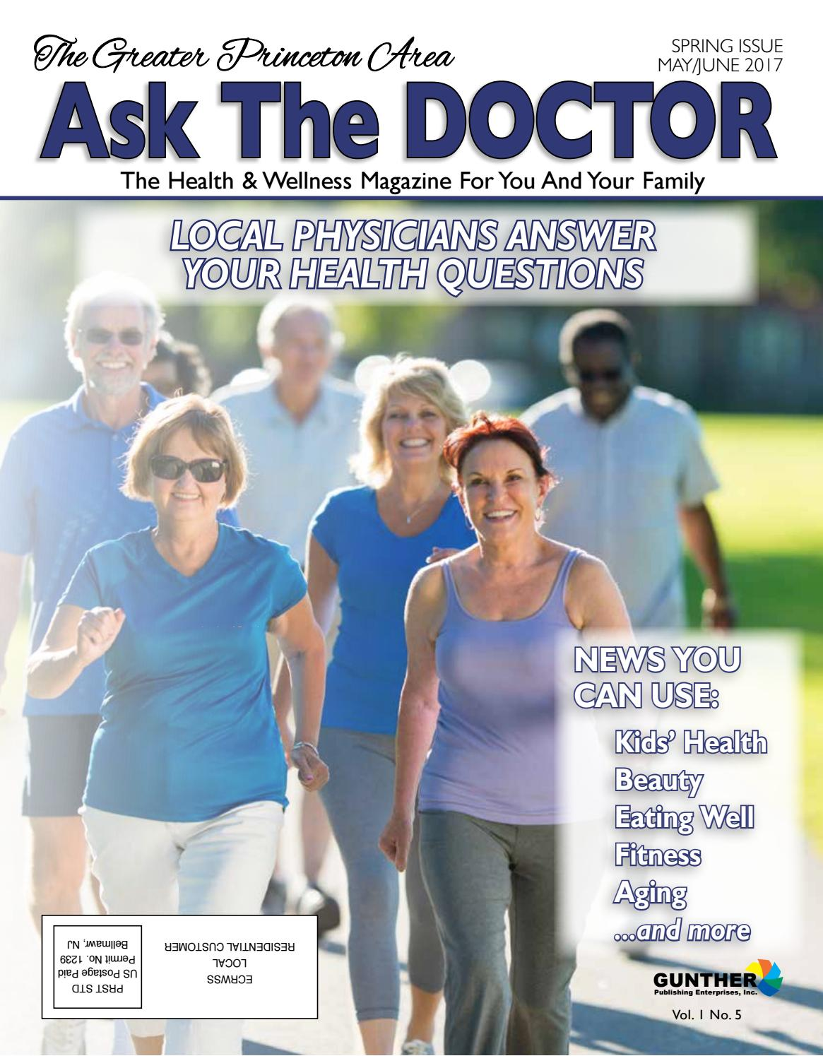 Princeton Ask The Doctor M-J 2017 by Gunther Publications - issuu