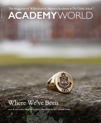 Academy World Spring 2017 by Wilbraham & Monson Academy - issuu