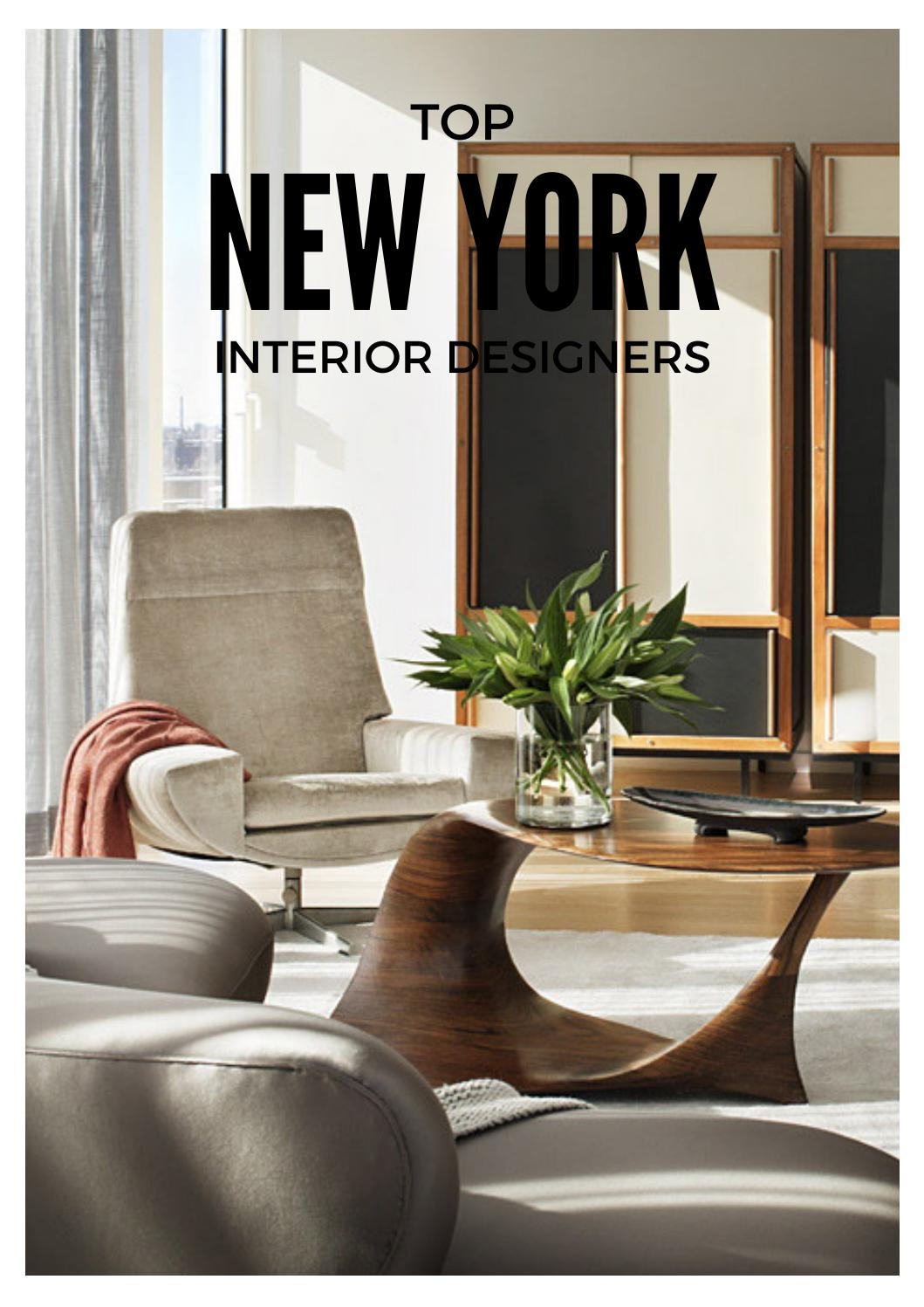 Top New York Interior Designers By Home Living Magazines Issuu