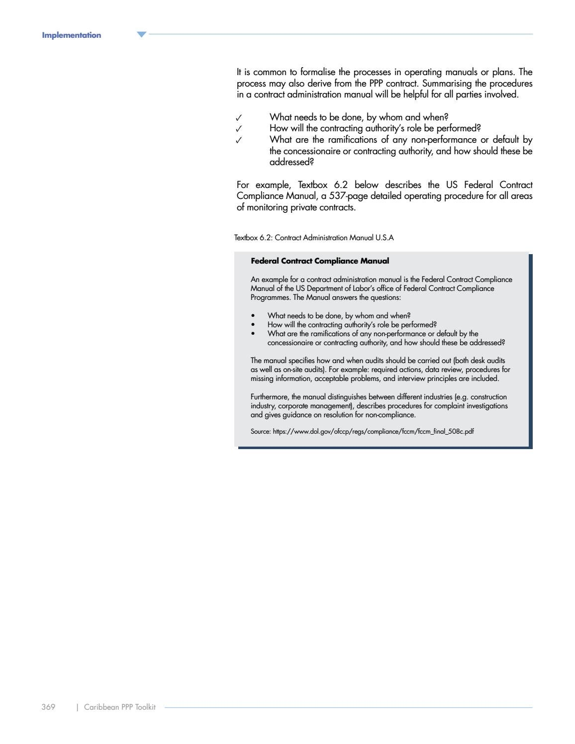 public private partnerships ppp toolkit by caribbean development rh issuu com nra construction contract administration manual construction contract administration manual pdf