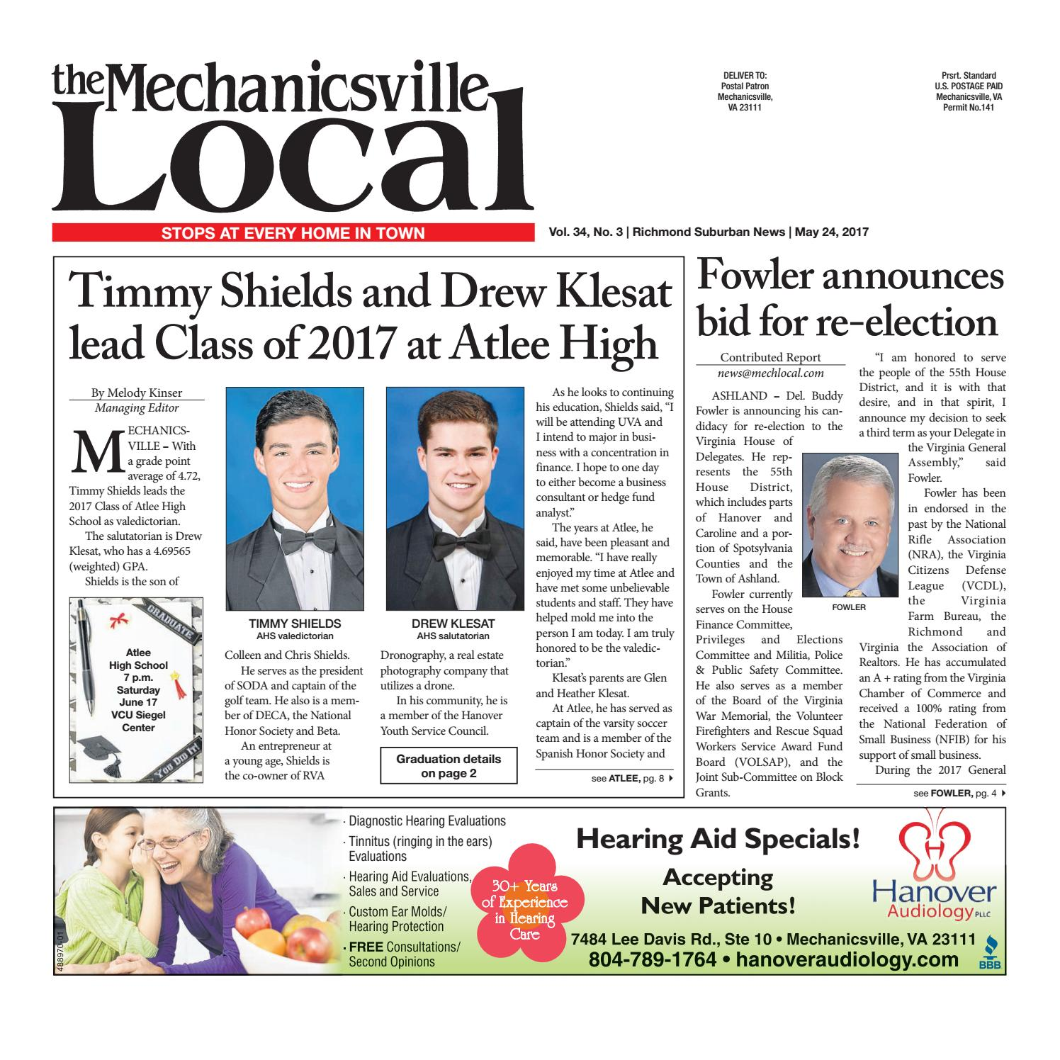 05/24/17 by The Mechanicsville Local - issuu
