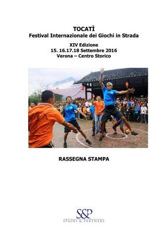 6f732e8f4c46ec Rassegna stampa completa tocatì 2016 by Tocatì - Festival ...