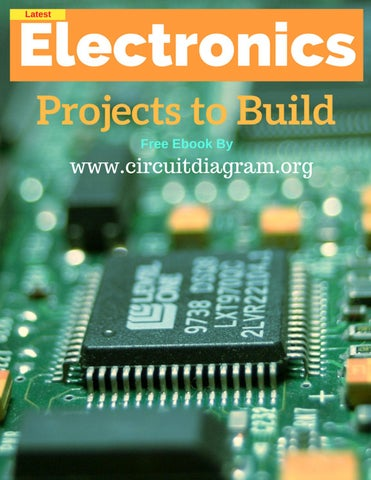 Latest Electronics Projects to Build PDF Ebook by Circuitdiagram.org ...