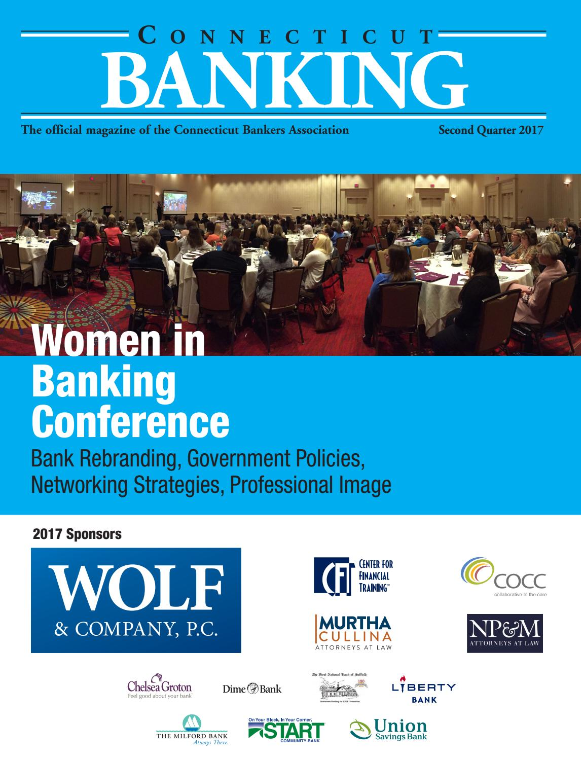 Connecticut Banking 2Q 2017 by The Warren Group - issuu
