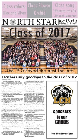 The North Star senior issue by North Newspapers - issuu