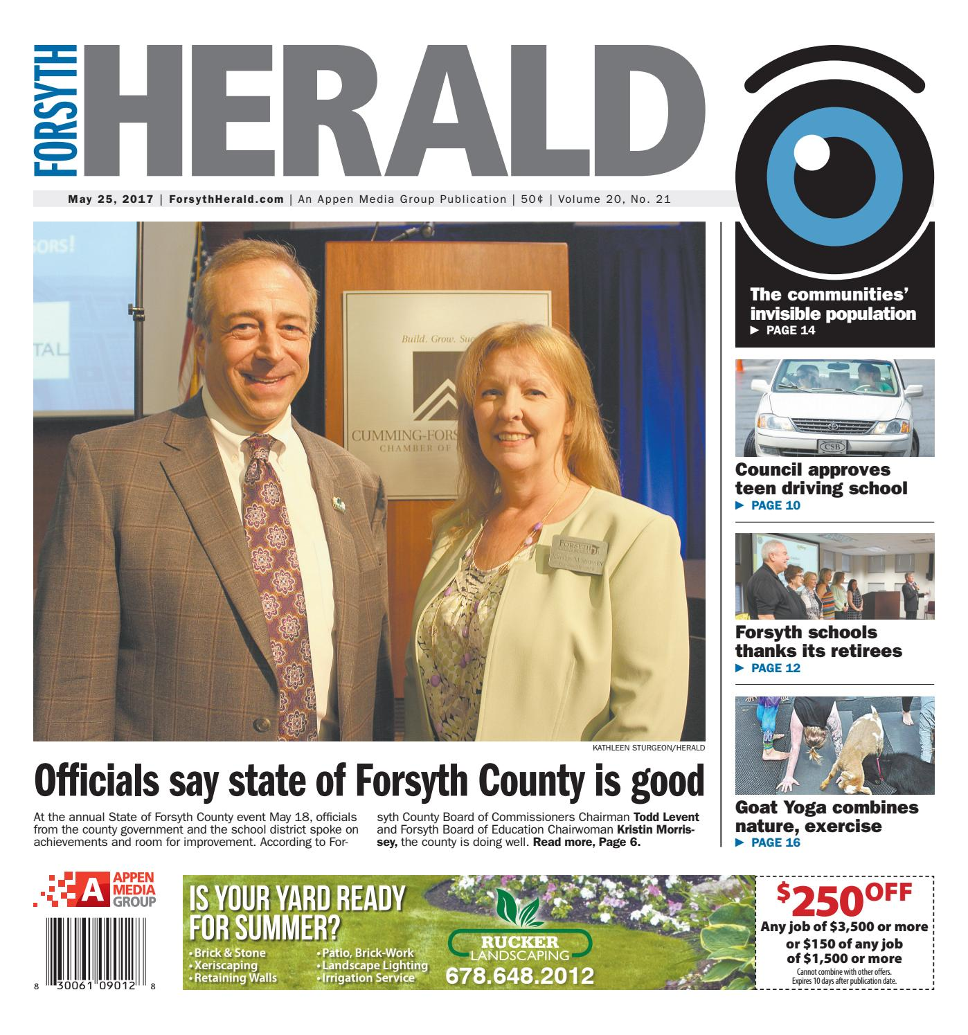 Forsyth Herald - May 25, 2017 by Appen Media Group - issuu