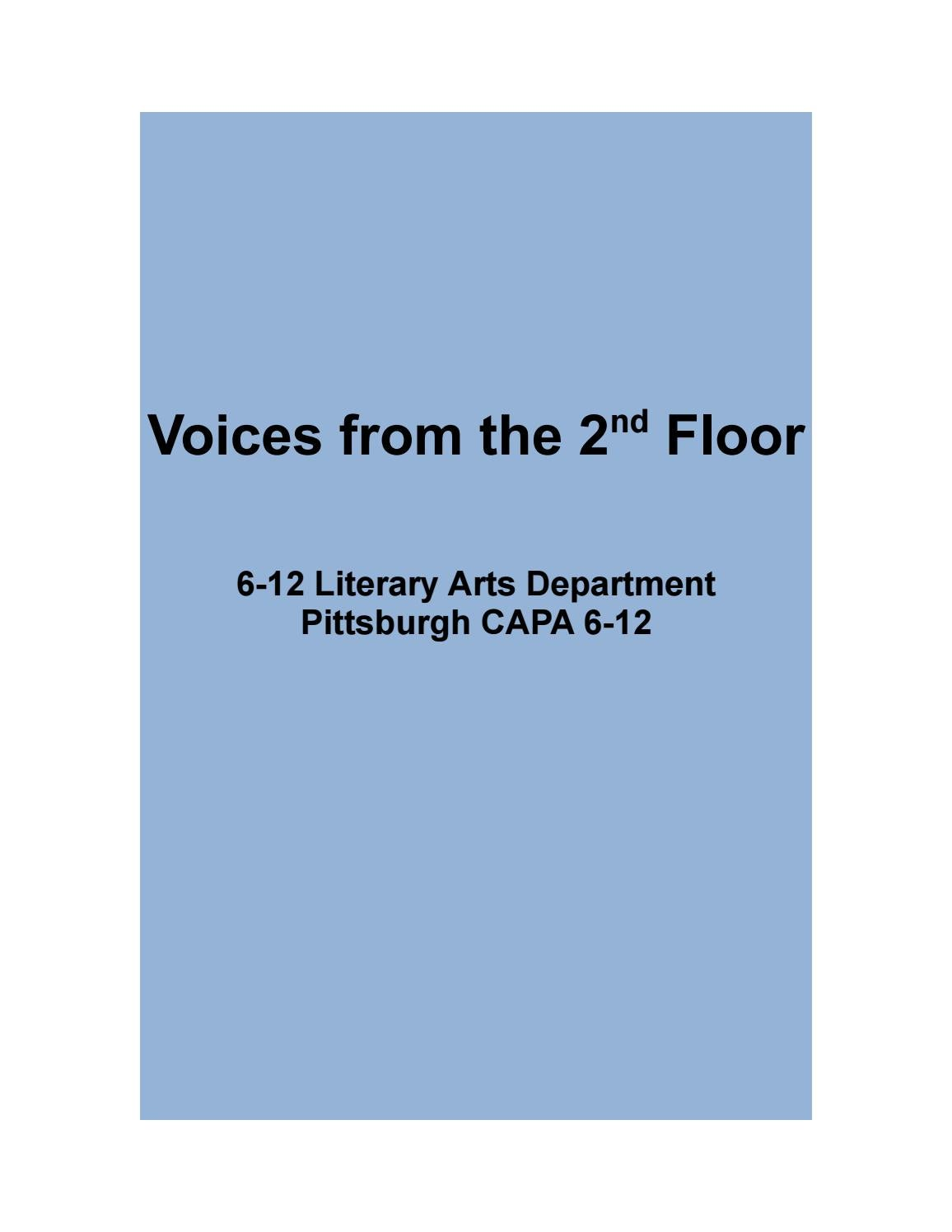 Voices from the 2nd Floor: Spring 2017 by Mara Cregan - issuu