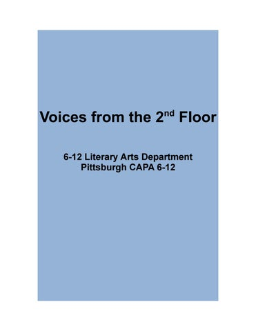 a00c1cbd7f Voices from the 2nd Floor  Spring 2017 by Mara Cregan - issuu