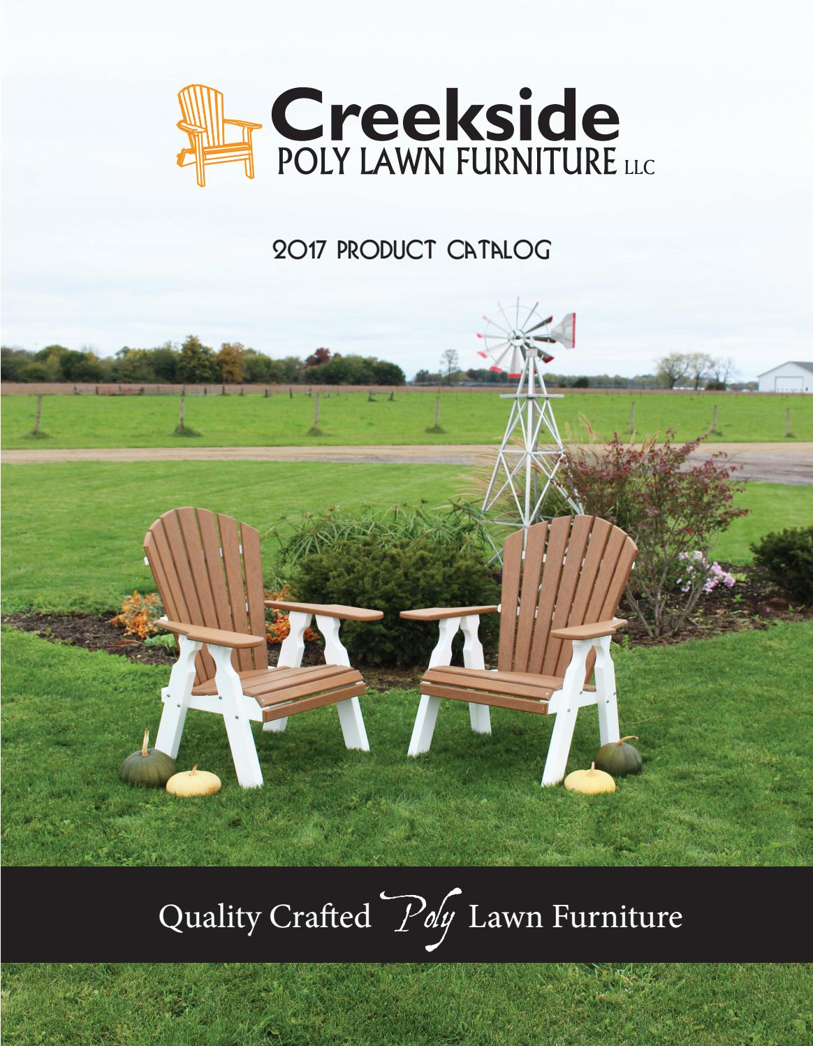 Creekside Catalog 2017 By Amish Heirlooms Furniture Issuu