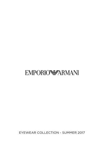 f89b43fb78a1 EMPORIO ARMANI by HOptical - issuu