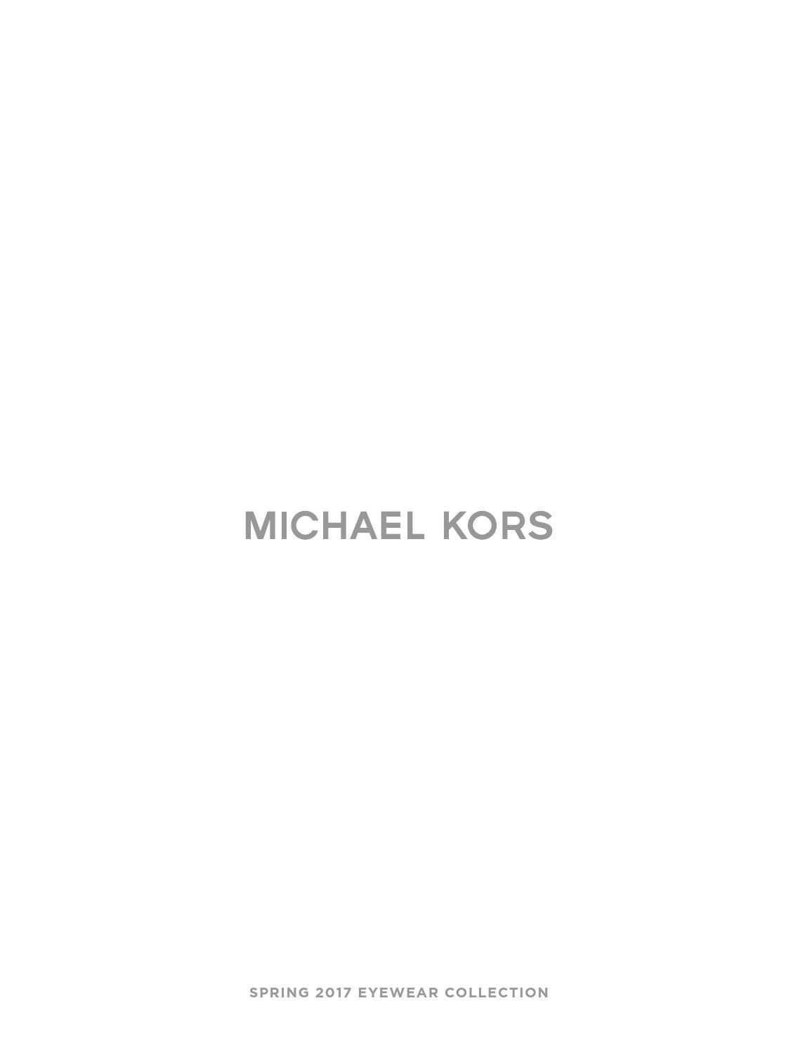 d911ded68794 MICHAEL KORS by HOptical - issuu