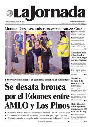 c4a651277dd3a MARTES 23 DE MAYO DE 2017 CIUDAD DE MÉXICO • AÑO 33 • NÚMERO 11787 •  www.jornada.unam.mx