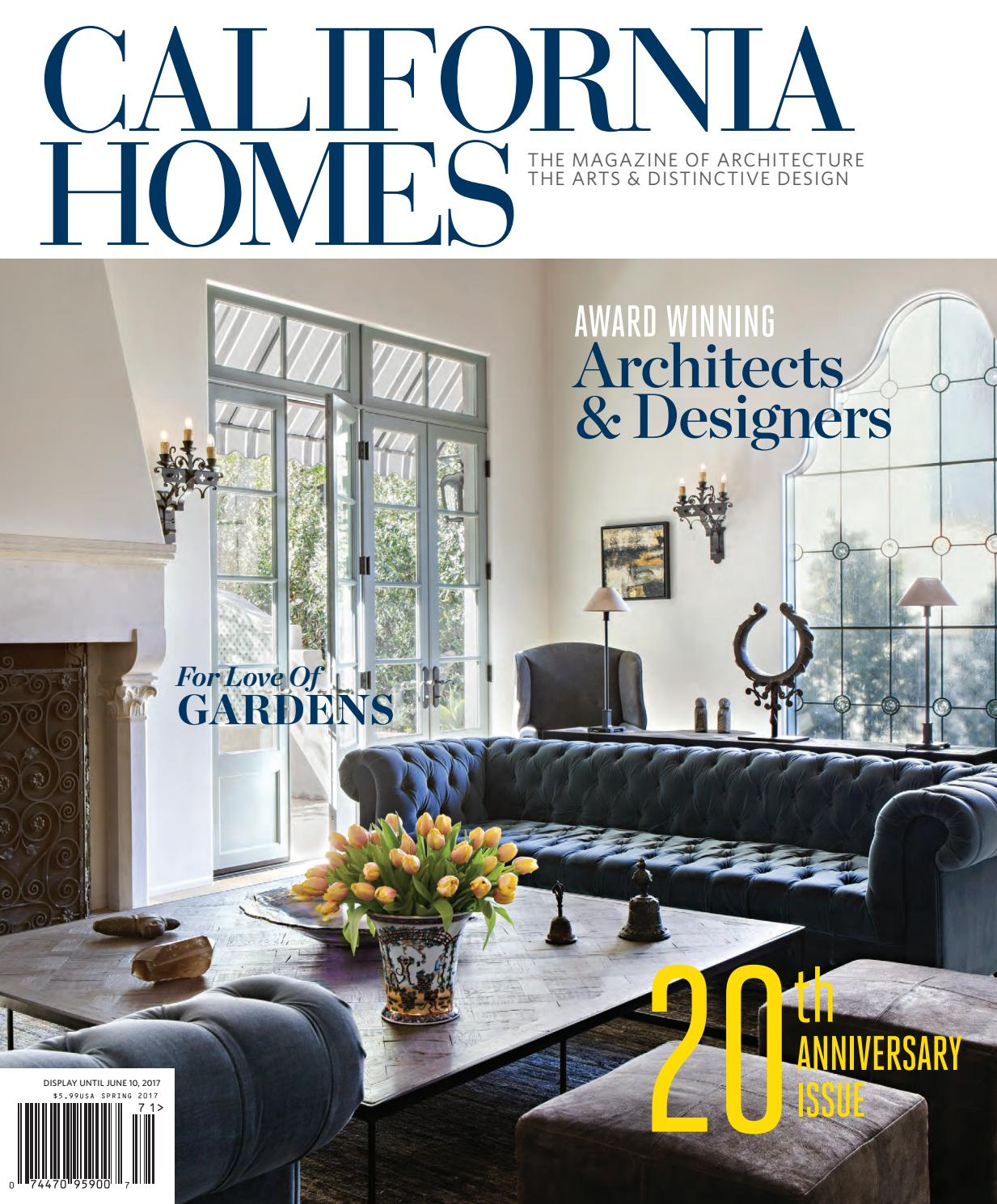 California homes spring 2017 by california homes for California home and design magazine