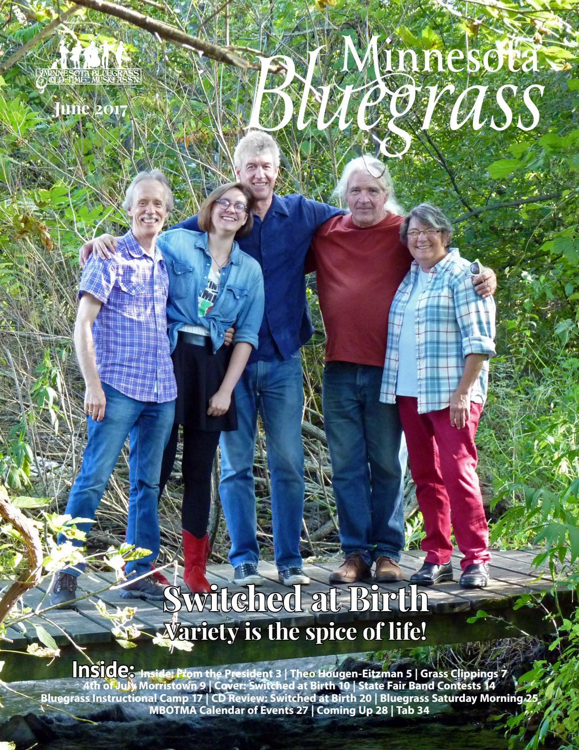 Minnesota Bluegrass Magazine June 2017