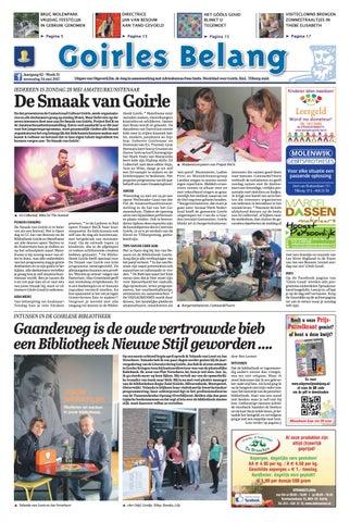 a5534a2f766 Goirles Belang 24-05-2017 by Uitgeverij Em de Jong - issuu