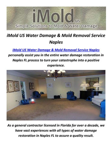 iMold US Service Of Water Damage in Naples  FL. iMold US Water Damage Services in Naples by iMold US Water Damage