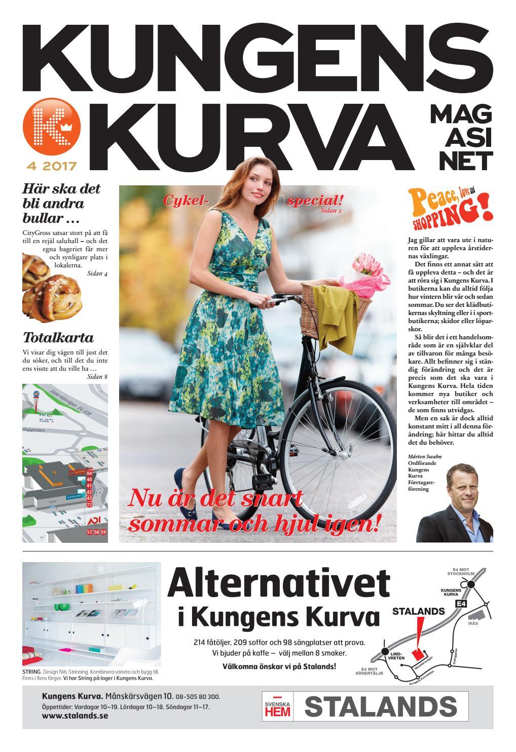 Kungens Kurva Magasinet 2017 04 By Format Publishing Issuu