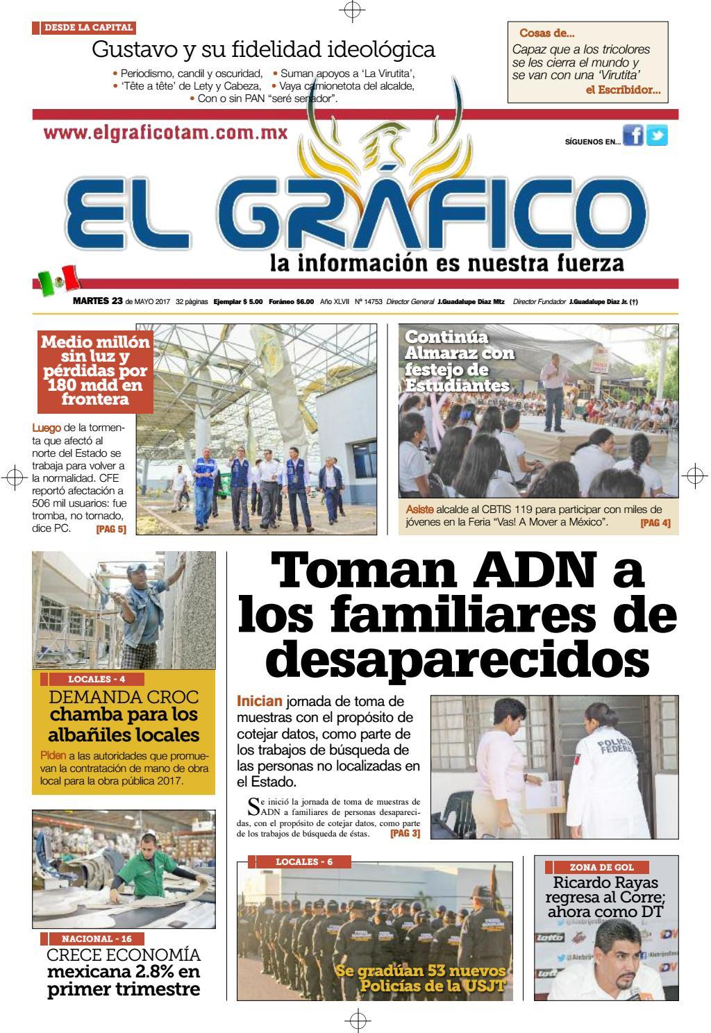 Gráfico en línea - Edición 23 de Mayo 2017 by El Gráfico - issuu