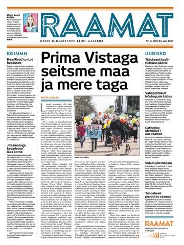 1ba5391e36f Ajaleht Raamat nr 110 (mai 2017) by Kaidi Urmet - issuu