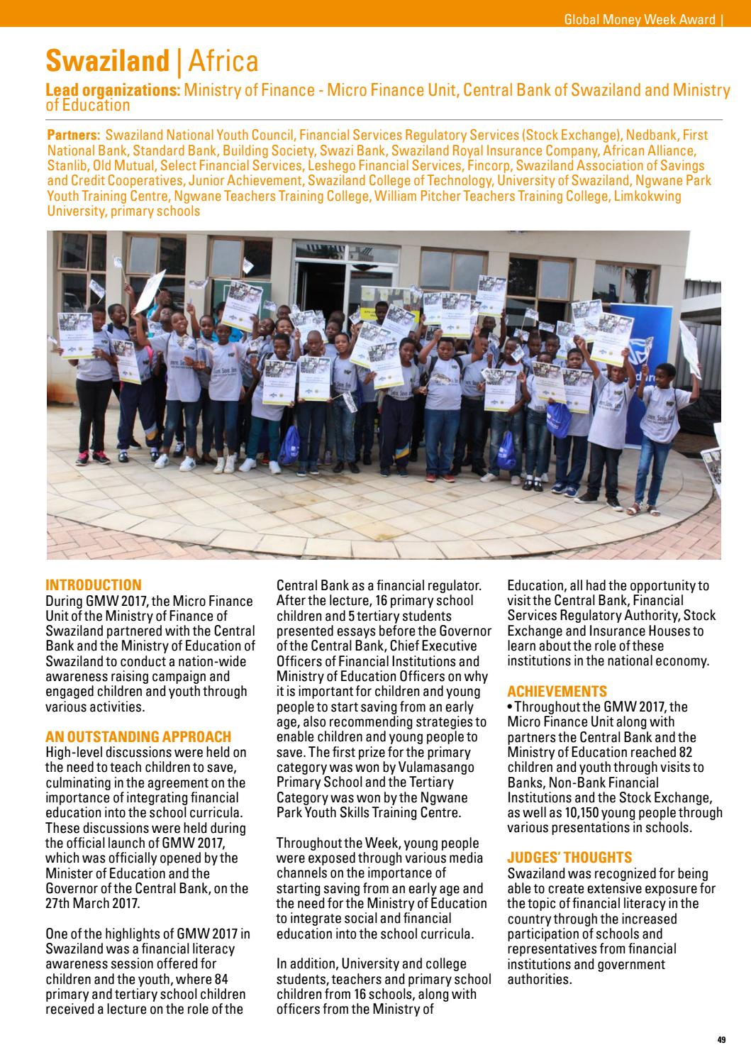 2017 Global Inclusion Awards Report by Child & Youth Finance International  - issuu