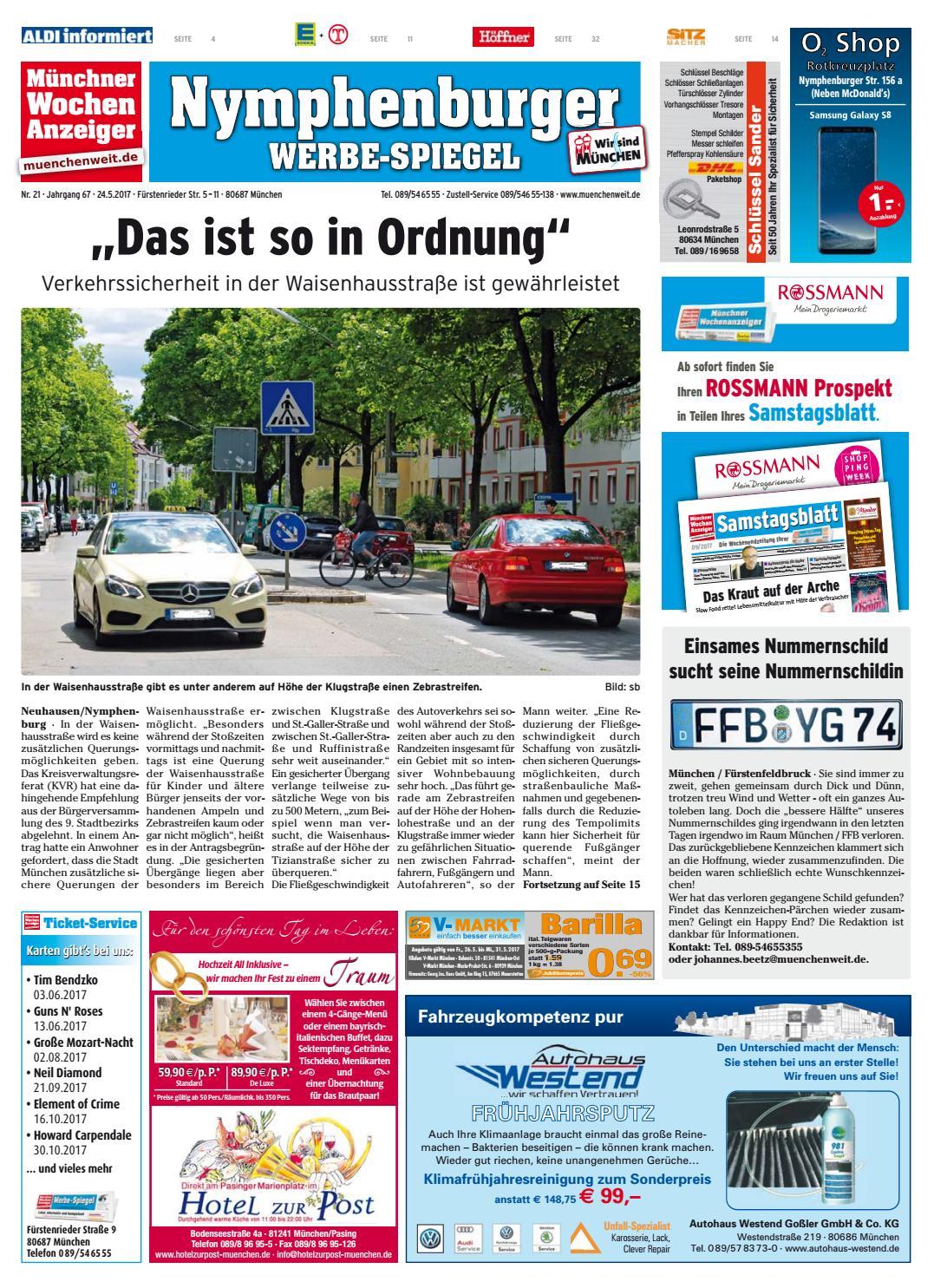 KW 21-2017 by Wochenanzeiger Medien GmbH - issuu