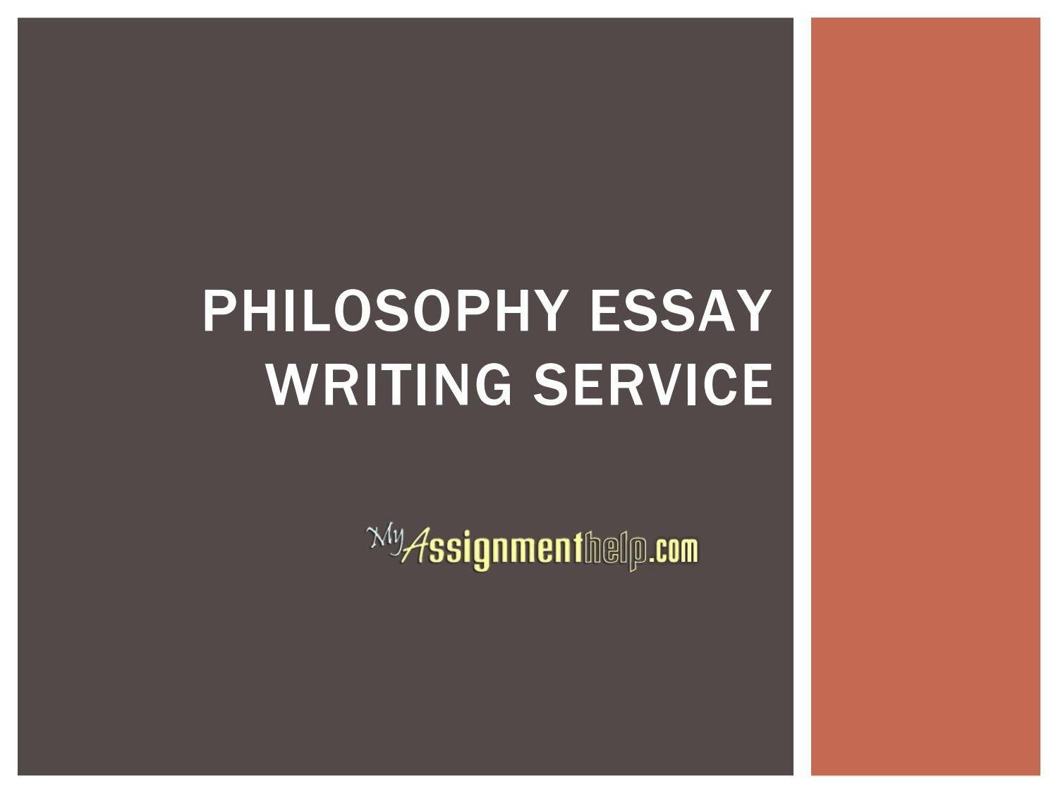 philosophy essay writing service by myassignmenthelp com issuu