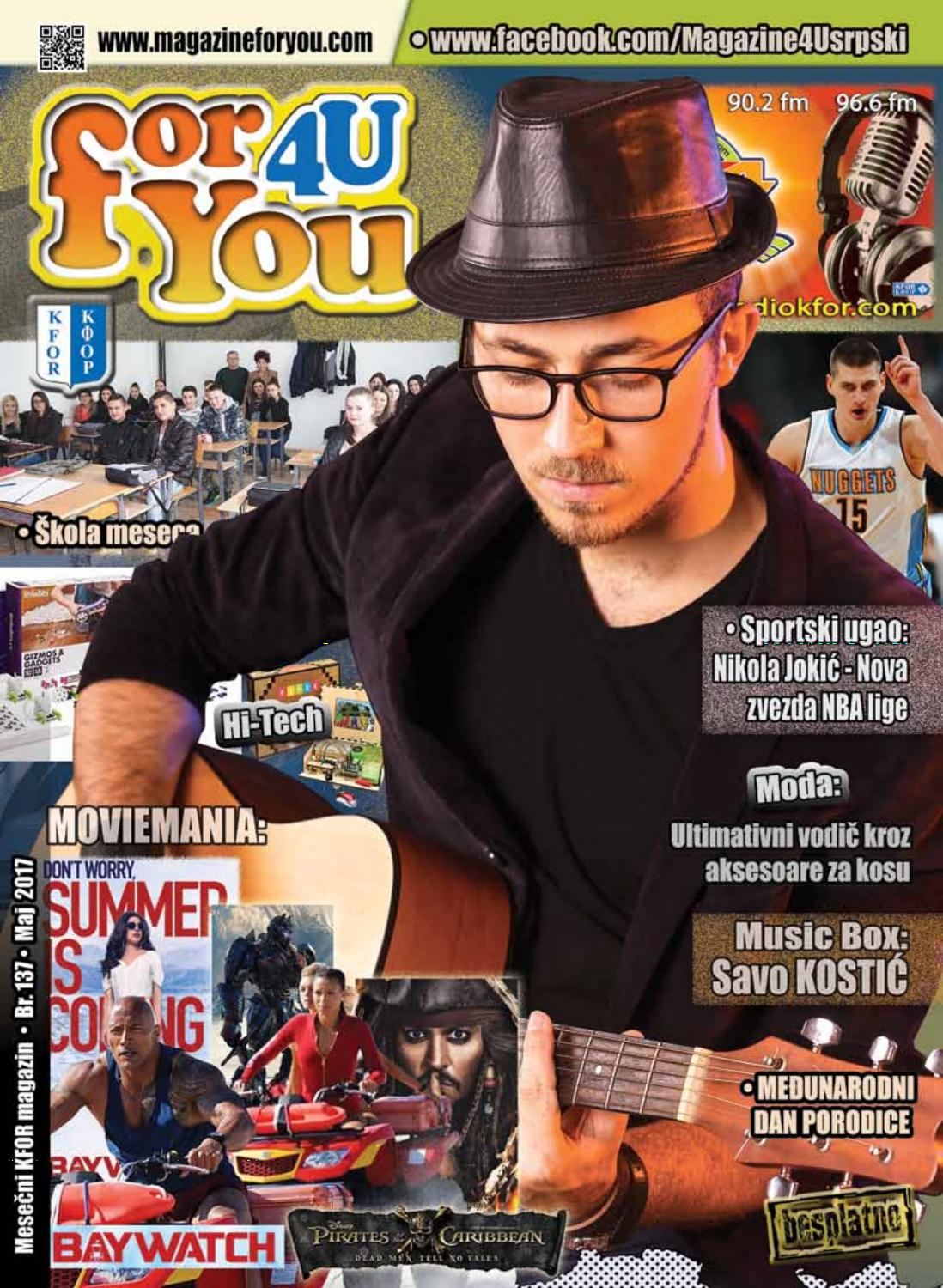For You Srb Eng May 2017 By Magazine4u Issuu