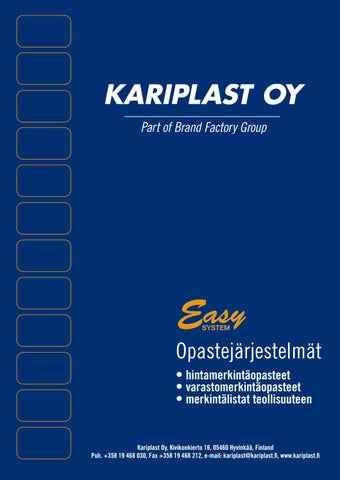 Fristads Kansas Kuvasto 2016 by One Stop Promotions - issuu 1e7011885b