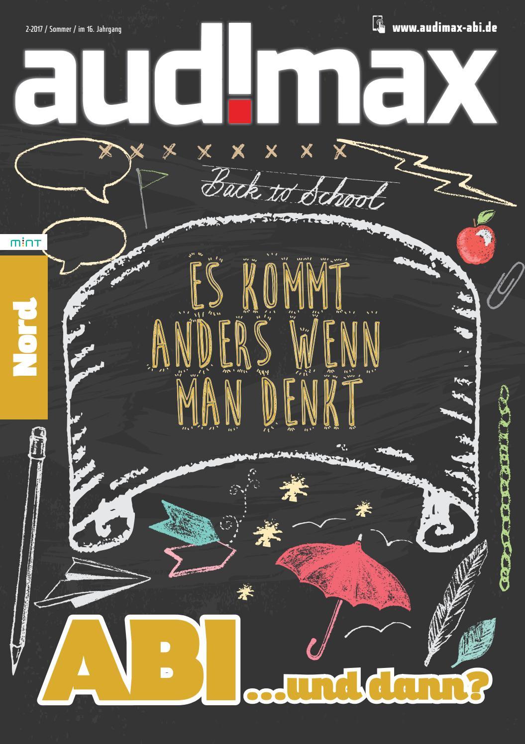 audimax ABI Nord 2.17 - Ausbildung, Ausland, Studium: Du hast die Wahl by  audimax MEDIEN - issuu