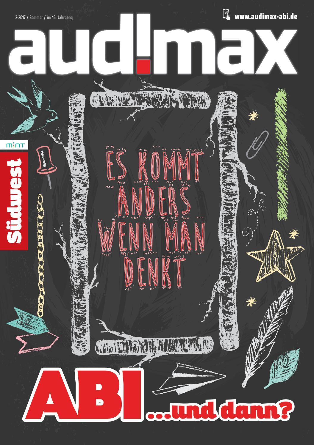 audimax ABI Südwest 2.17 - Ausbildung, Ausland, Studium: Du hast die Wahl  by audimax MEDIEN - issuu