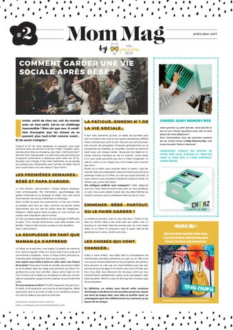96c03e30b5d63 Mommag 2 definitif by Fabienne Torres Baranes - issuu