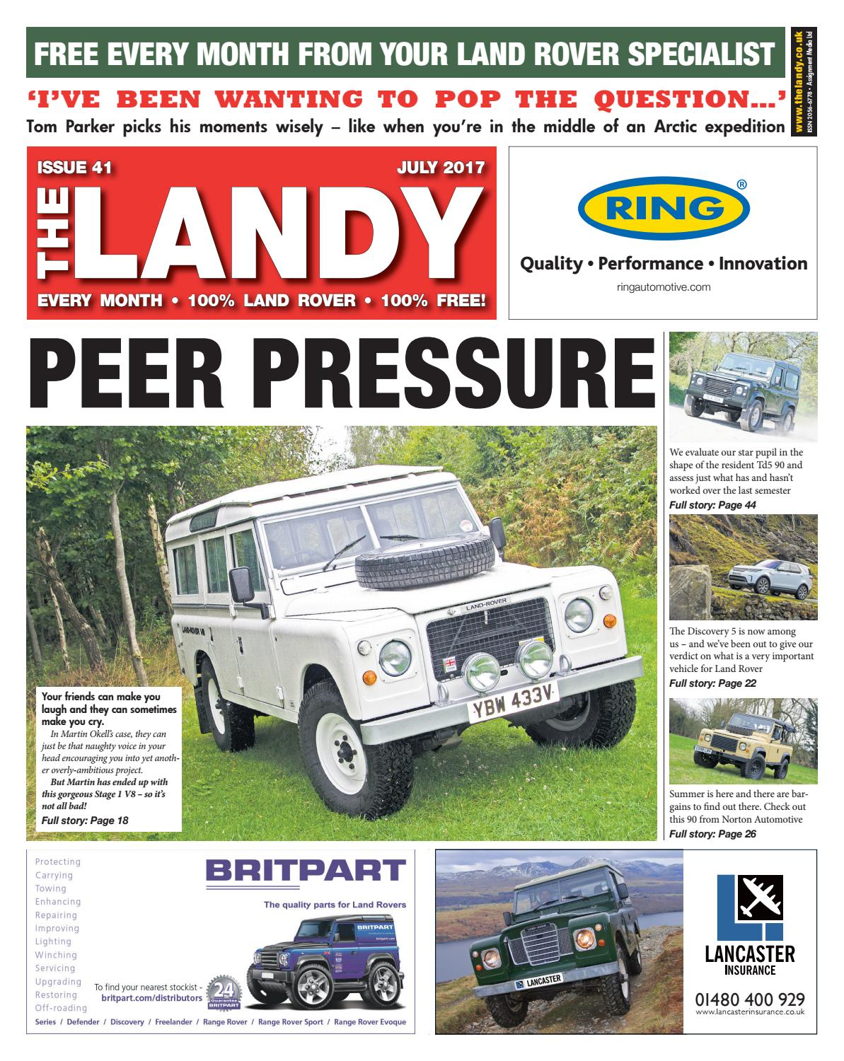 The Landy July 2017 By Assignment Media Ltd Issuu Daewoo Korando Turn Signal And Hazard Lamp Schematic Routing Diagrams