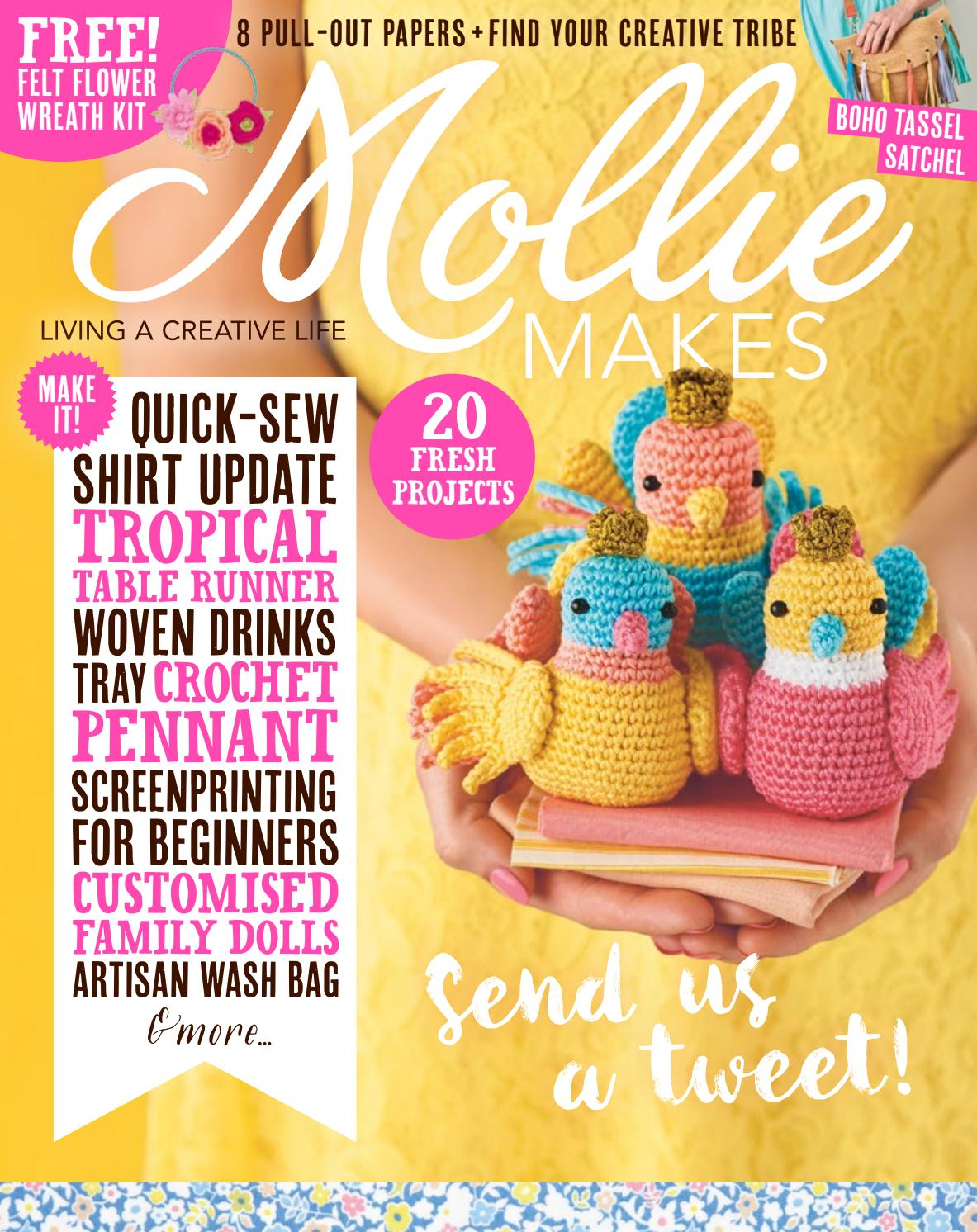 Amigurumi For Beginners Magazine : Mollie Makes #80 by Mollie Makes - issuu