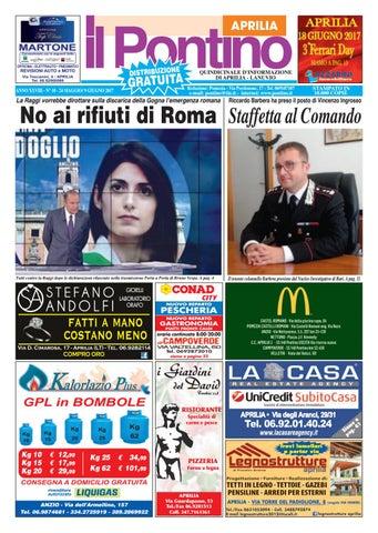 77a4ade8da68 Il Pontino Aprilia - Anno XXVIII N. 10 -24 Maggio 9 Giugno 2017 by ...